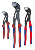 9K 00 80 05 US Knipex COMFORT GRIP COBRA SET 180, 250, and 300mm