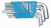 Gedore 1505408 Hexagon Allen key set in holder 10 pcs 1.3-10 mm H 42-10