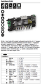 WERA 05056490001 Tool-Check Plus BitRatchet Kit Metric  [With New Color Coded Sockets]