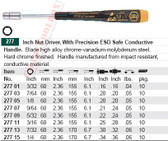 WIHA 27701 Precision ESD-Safe Nut Driver 3/32