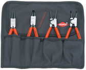 Knipex 00 19 56 4-PC. RETAINING RING PLIERS SET
