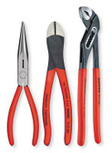 00 20 08 S1 Knipex  3-PC UNIVERSAL PLIERS SET W/ ALLIGATOR PLIERS