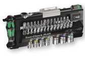 WERA 05056491001 Tool-Check Plus BitRatchet Kit Imperial  [With New Color Coded Sockets]