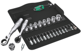 WERA 05135918 ZYKLOP MINI RATCHET SET 22 PCS.