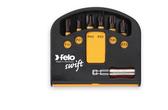 "FELO 63055 Torx Impact Bits (6) and Bitholder in Box - T10 / T15 / T20 / T25 / T30 / T40 x 1/4"" *NEW*"
