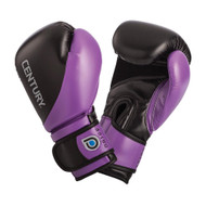 Century Drive Ladies Boxing Gloves Black/Purple