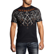 Affliction Eagle Pride Short Sleeve T-Shirt Black