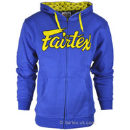 Fairtex Hoodie Blue/Yellow