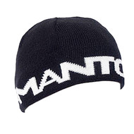Manto Logotype Mens Beanie Black