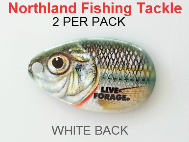 Northland tackle indiana blades size 4 157 for Northland fishing tackle