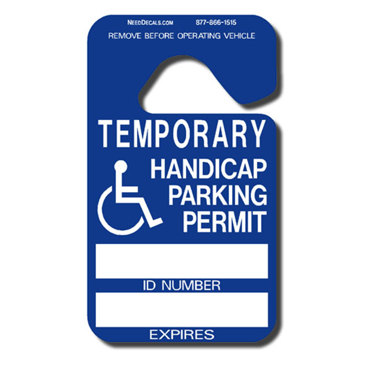Handicap Hang Tag Parking Permits 25 Pack $49.97 Down To ...