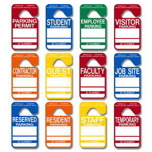 Mix-N-Match - Hanging Parking Tags - 25 Pack