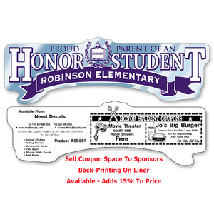 Honor Student Bumper Stickers