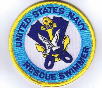 USN Rescue Swimmer Patch 4""