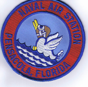 "NAS Pensacola patch (3"")"