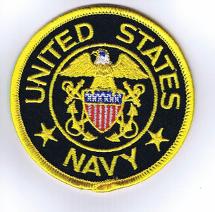 USN Officer shoulder patch