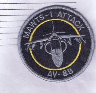 MAWTS-1 Attack AV-8B patch