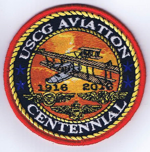 "USCG Aviation Centennial Patch (3.5"")"