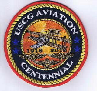 """USCG Aviation Centennial Patch (4"""")"""