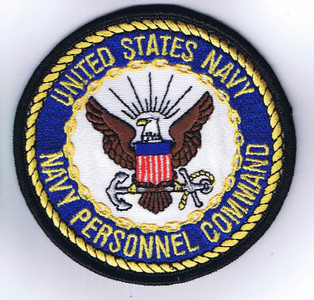 US Navy Personnel Command patch