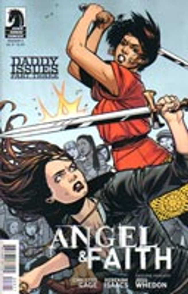 Angel & Faith # 8b limited variant