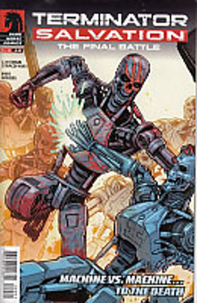 Terminator Salvation: Final Battle # 9 (of 12)