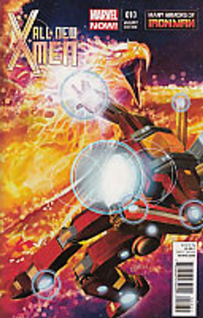 All New X-Men # 10b limited 'IRON MAN ARMOURS' variant