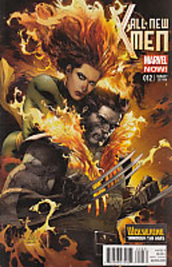 All New X-Men # 12b limited 'WOLVERINE' variant