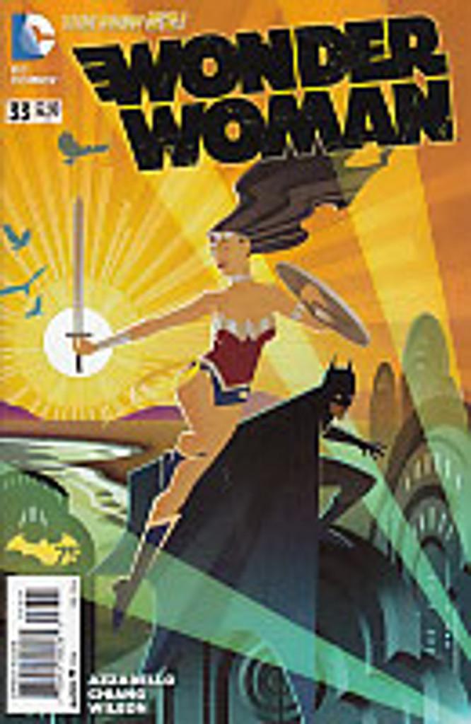 Wonder Woman # 33b limited 'BATMAN 75' variant