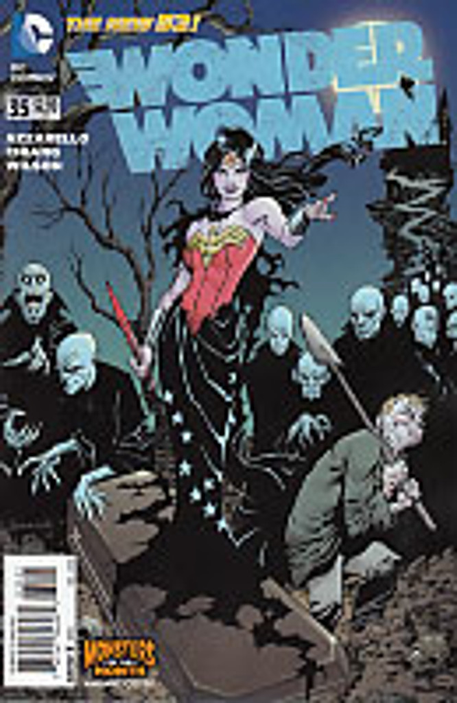 Wonder Woman # 35b limited 'MONSTERS' variant