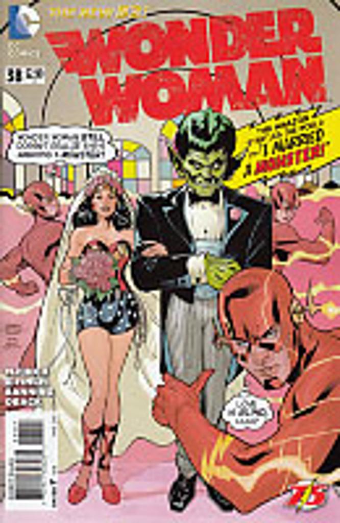 Wonder Woman # 38b limited 'Flash 75' variant