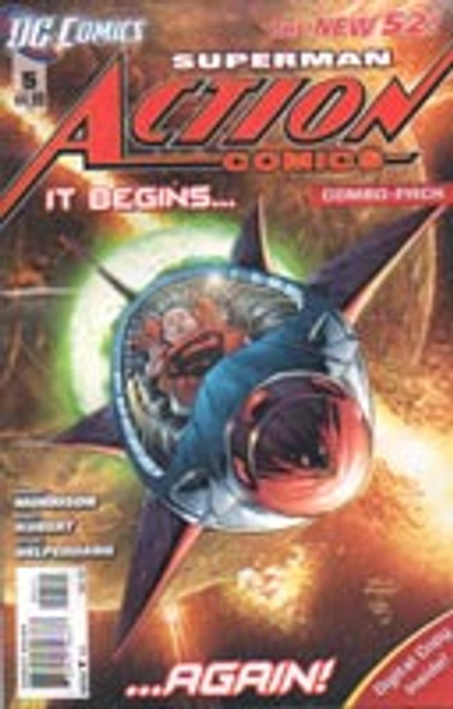 Superman: Action Comics Vol . # 5c Limited Variant