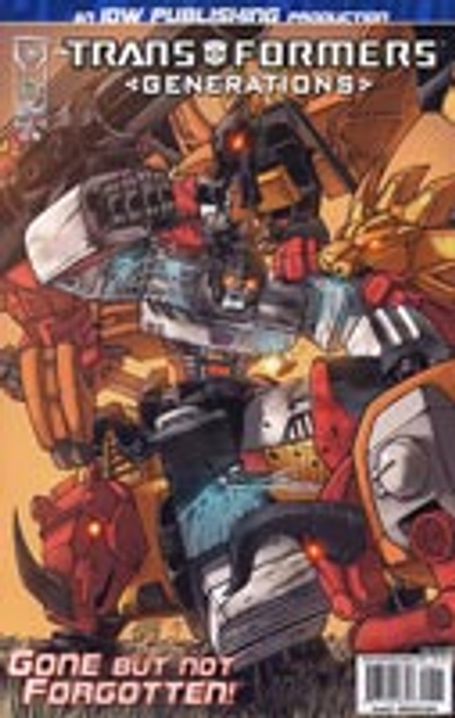 Transformers: Generations # 8