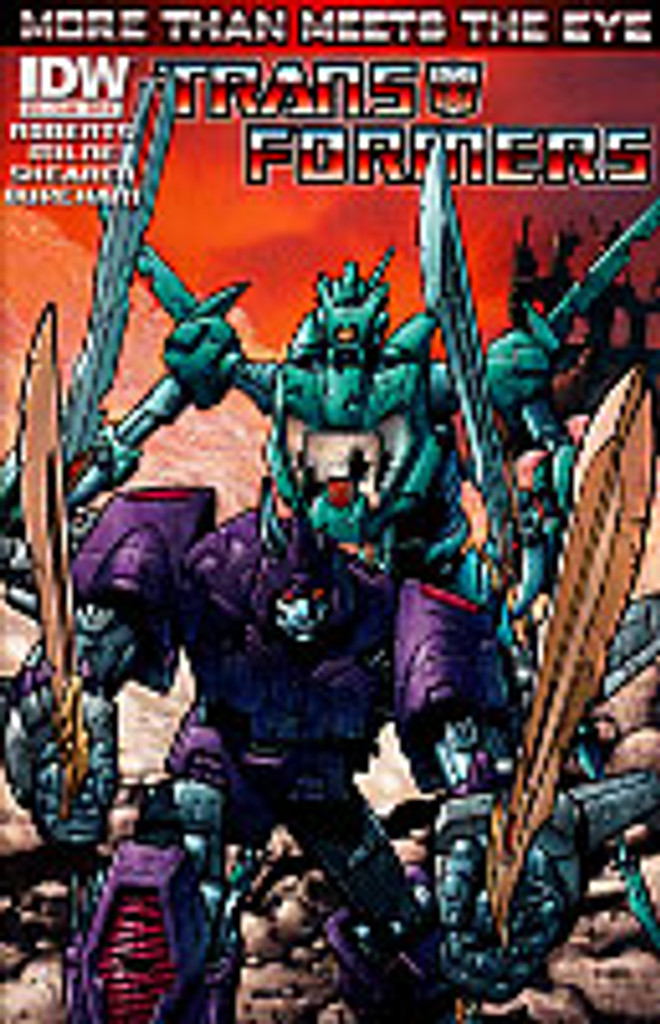 Transformers: More than meets the eye # 19b