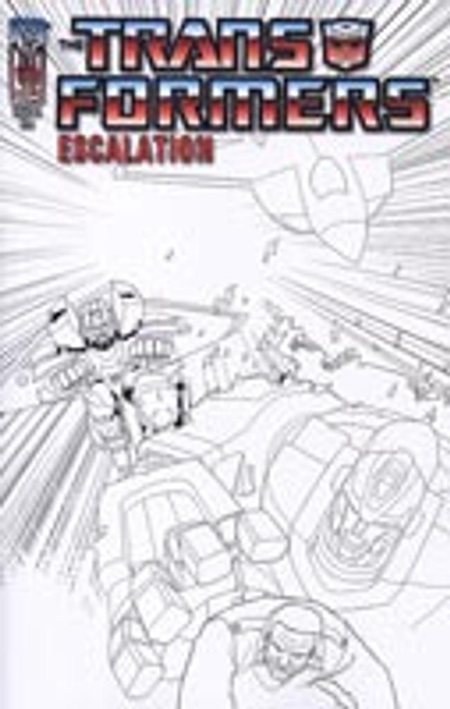 Transformers: Escalation # 6a rare incentive cover