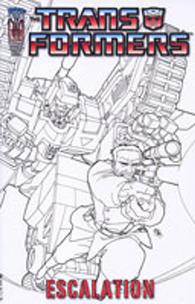Transformers: Escalation # 3a rare incentive cover