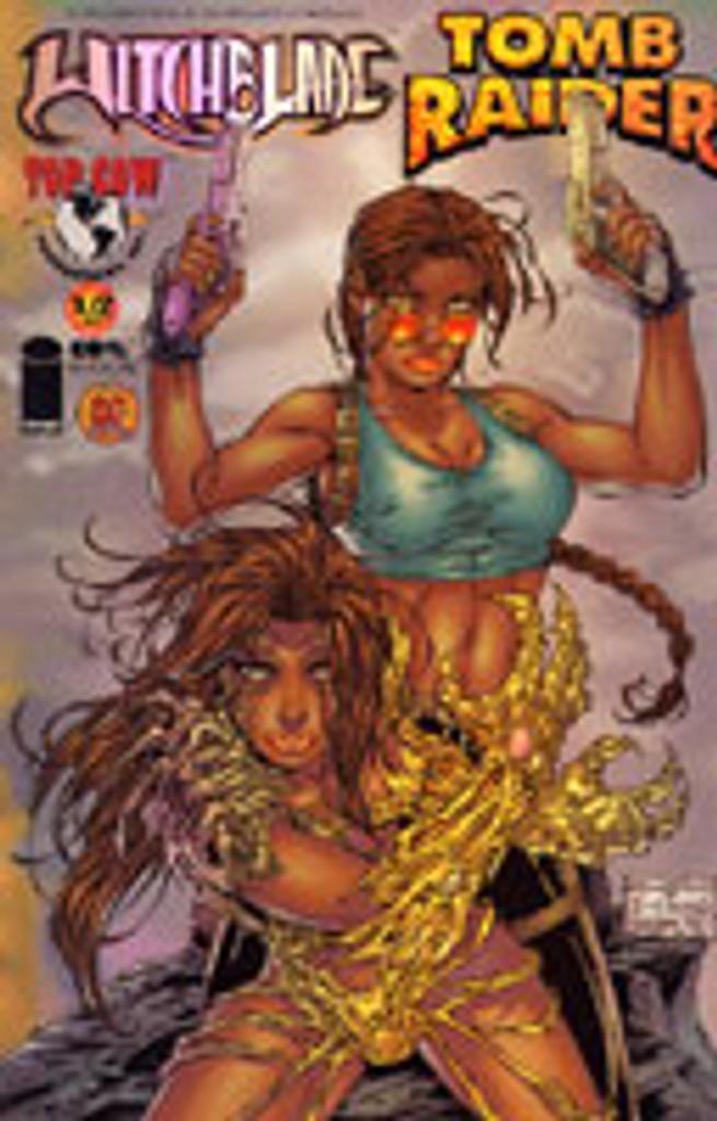 Witchblade / Tomb Raider # 1/2 DF CHROME