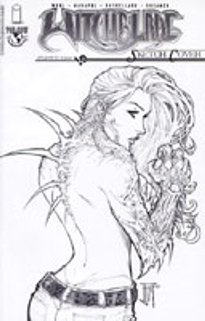 Witchblade # 70 Sketch Cover
