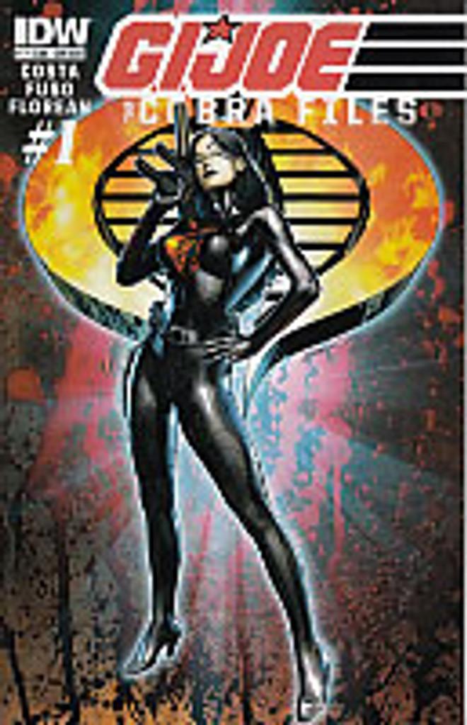 Cobra Files # 1b limited SUB variant