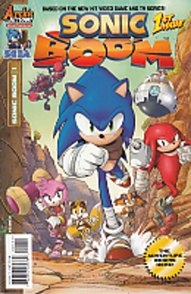 Sonic: Boom # 1