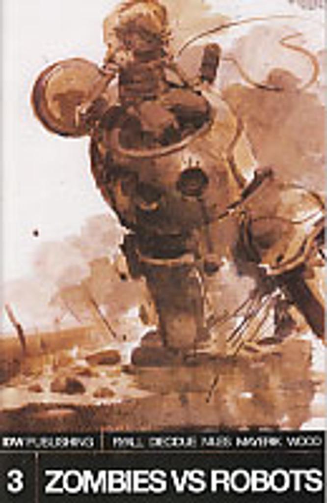 Zombies vs Robots # 3