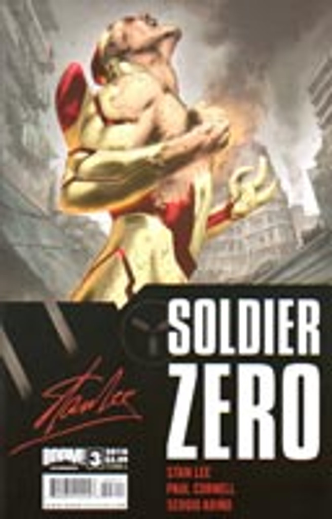 Soldier Zero # 3a