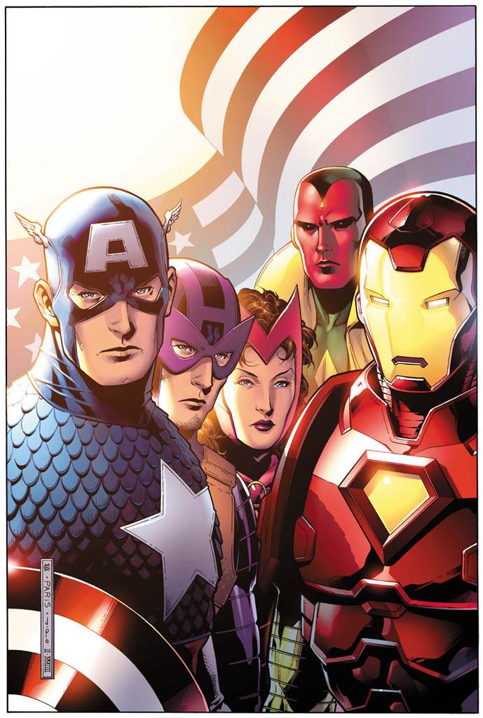 Avengers # 44b limited variant