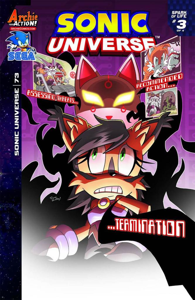 Sonic: Universe # 73