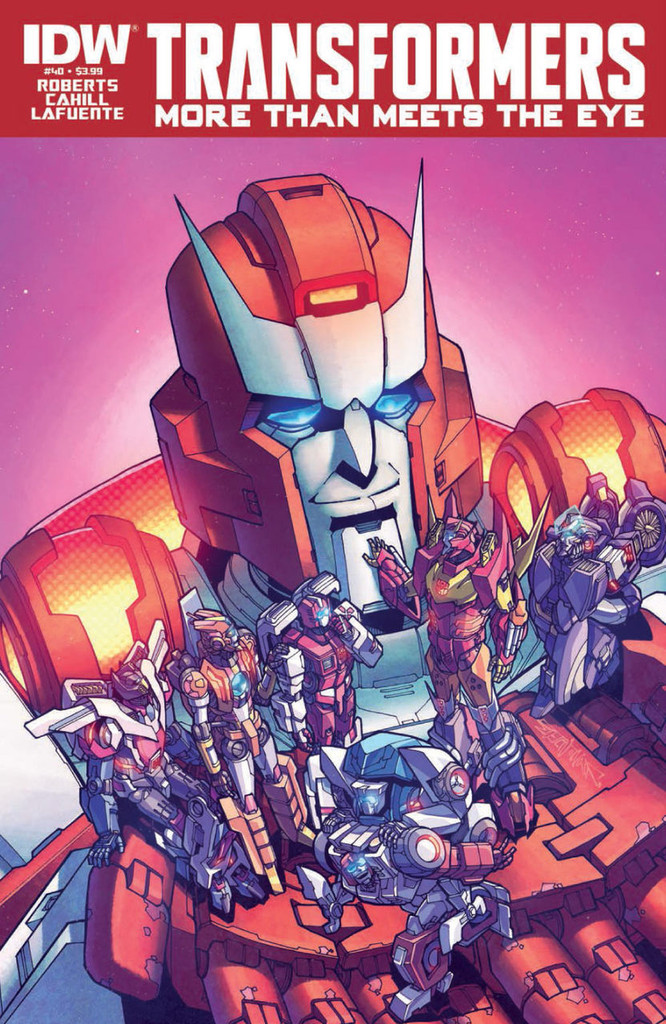 Transformers: More than meets the eye # 40