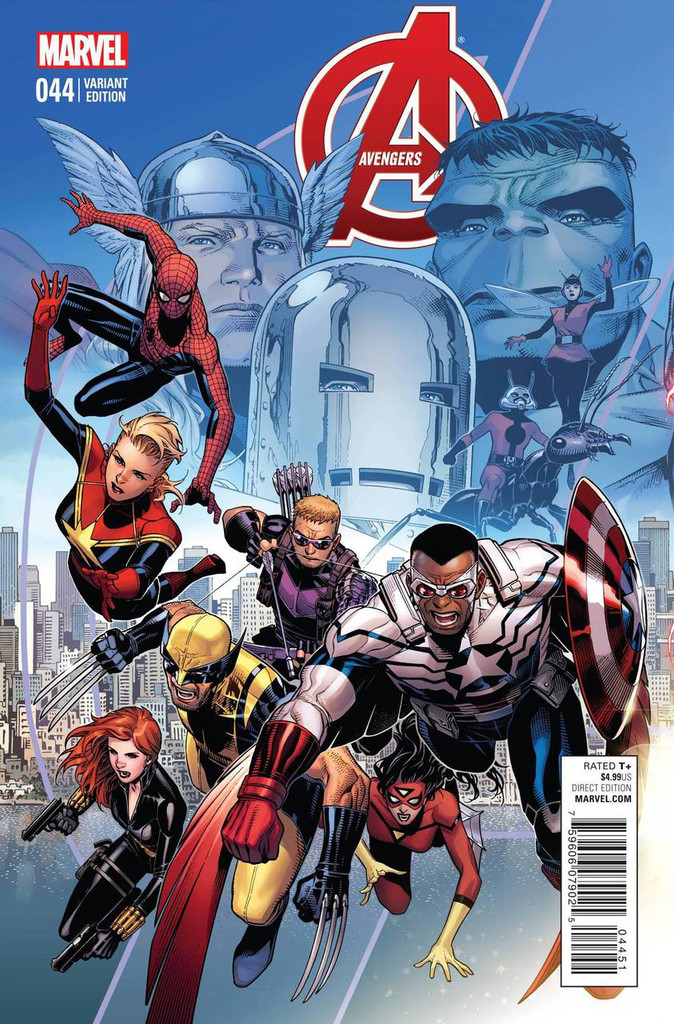 Avengers # 44c Limited 'END OF AN ERA' VARIANT