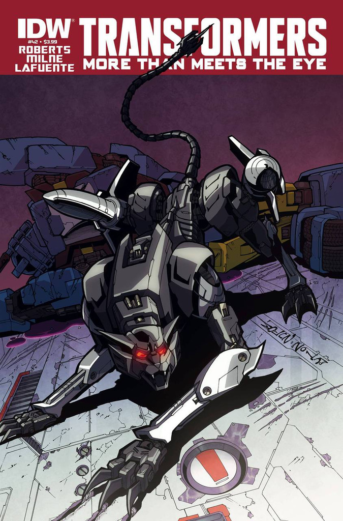 Transformers: More Than Meets The Eye # 42