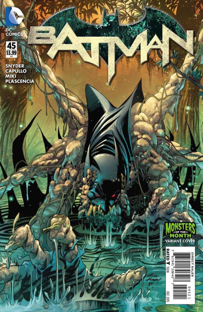Batman #45b Limited 'MONSTER' Variant