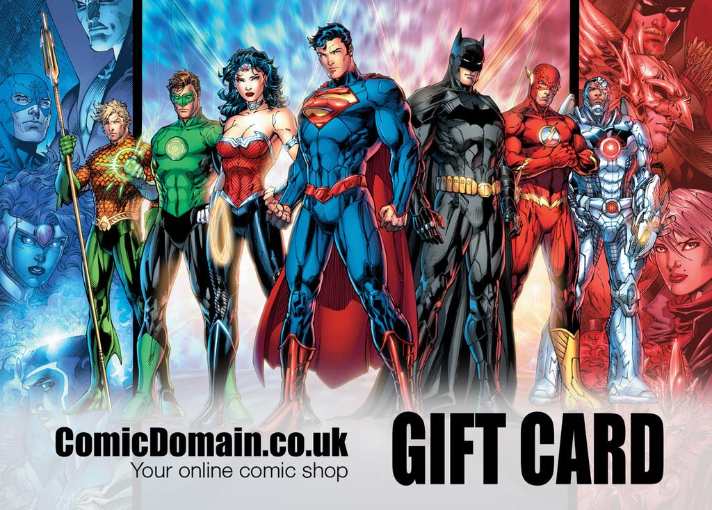 Comic Domain £10 Gift Card