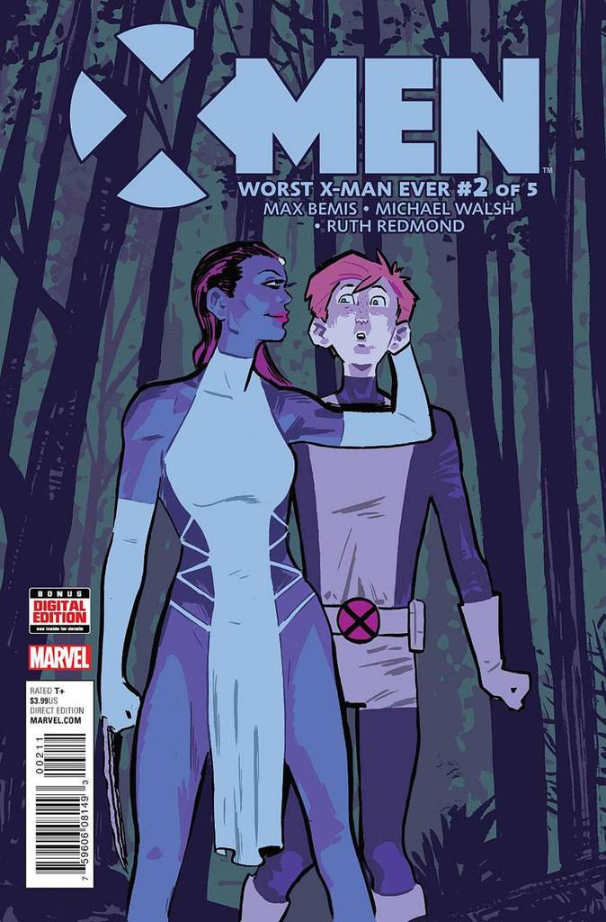 X-Men: Worst X-Man Ever #2 (of 5)